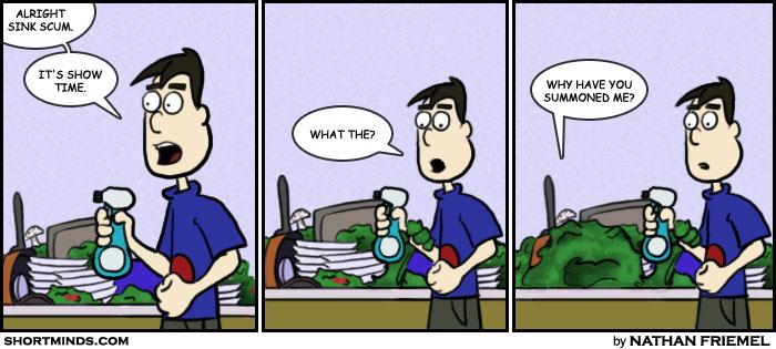 Sink Scum Part 3